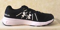 Men UA Under Armour Dash Run 2 Running &Training Shoes Black & White 1285671 001