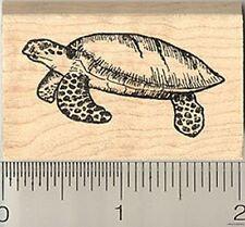A8 Sea Turtle Motif Unmounted Rubber Stamp RS00018861