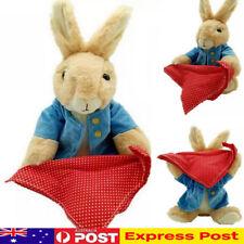 Peter Rabbit Peek a Boo Animated Stuffed Plush Soft Hide Seek Toy Doll Xmas Gift