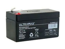 More details for data shield ss 400 12v 1.3ah ups replacement ultramax np1.2-12 12v 1.2ah battery