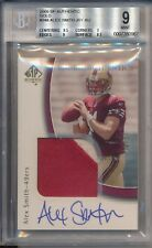 2005 SP Authentic ALEX SMITH Gold Auto Jersey Patch Rookie RC /25 BGS 9 REDSKINS