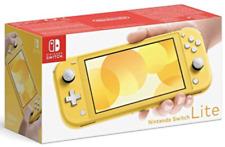 New Nintendo Switch Lite Yellow Handheld Gaming Console UK Seller