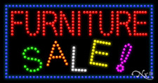 "New ""Furniture Sale"" 32x17 Border Solid/Animated Led Sign w/Custom Options 21716"