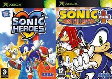 sonic heroes & sonic plus mega collection     PAL FORMAT XBOX ONLY