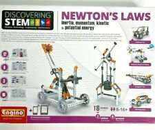 Discovering Stem Newton's Law Engino Play to Invent 8 Models Science Toy