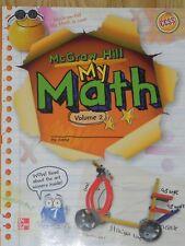 Elementary Math Connects My Math 3rd Grade 3 Student Edition Volume 2 Workbook