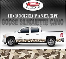 "Goose Hunting Camo Rocker Panel Graphic Decal Wrap Truck SUV - 12"" x 24FT"