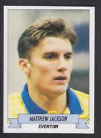 Panini - Football 93 - # 74 Matthew Jackson - Everton