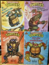 Teenage Mutant Ninja Turtles A Storybook Adventure 1990 Complete Set of 4 New