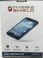 Zagg Invisible Shield High Definition For Samsung Galaxy S4 Screen NEW
