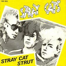 "7"" Stray Cats – Stray Cat Strut // Dutch 1981"