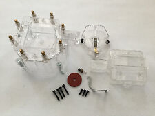 Fits Clear Chevy Pontiac Buick Olds V8 HEI Performane Distributor Cap Rotor Kit