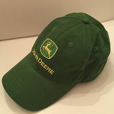 John Deere Green Cap Hat Owners Edition Licensed Adjustable Cotton