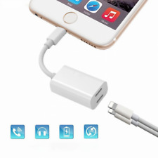 2 in 1 Lightning Adapter Splitter für iPhone x/ 8/ 7/7 Plus Dual Klinke 2-in-1