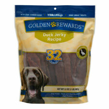 Golden Rewards Duck Jerky Dog Treats 32 Oz