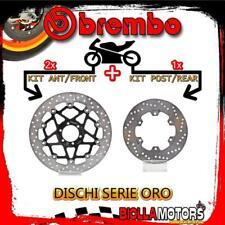 Brdisc - 2787 KIT Bremsscheiben Brembo Ducati Monster 795 2013 - 795CC [Front + Rear] [