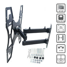 LED LCD TV Wall Mount Bracket For 32 34 37 40 42 46 50 52 55 60 Inch Swivel Tilt