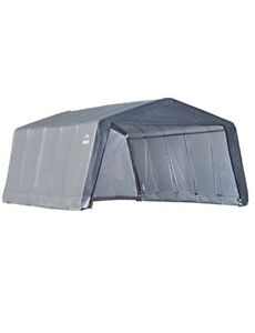 ShelterLogic Heavy Duty Replacement Cover 7.5 Oz - Gray (800292) 12x20x8 Feet