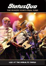 Status quo-Frantic Four 's final fling-Live a Dublino DVD + CD NUOVO