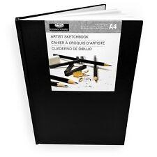 Royal and Langnickel - Essentials Hardback A4 Artist Sketchbook – 80 Sheets