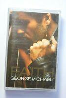 George Michael Faith cassette tape album