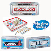 Range of Hasbro Board Games Road Trip Portable Travel Editions - New & Sealed