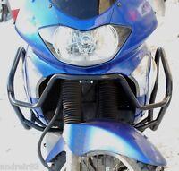 Honda XL 650 V Transalp Engine Radiator Guard Crash Bars Black Mmoto HON0040