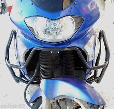 Honda XL 650 V Transalp Engine Radiator Guard Crash Bars Black Mmoto MM29