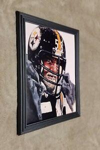 Pittsburgh Steelers Jack Lambert Close Up Portrait 8x10 Framed Photo