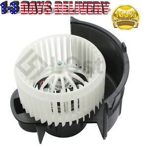 New A/C Heater Blower Motor w/ Fan Cage Front For Touareg Q7 Cayenne 7L0820021Q