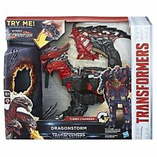 The Last Knight Mega 1-step Turbo Changer Dragonstorm Playset By Transformers