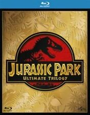 Jurassic Park Trilogy Blu-ray UV Digital Download 2015 Region DVD