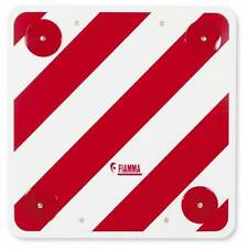 Fiamma Rear Warning Sign Safety Signal Reflector Plate Motorhome Free Delivery