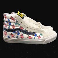 Vans Vault Spongebob Square Pants OG SK8 HI LX Cream White Black VN0003T0Q7Z