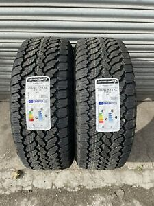 X2 255 60 R18 112H M+S GENERAL GRABBER AT3 TYRES OFF ROAD ALL TERRAIN 4X4