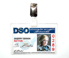 Resident Evil Sherry Birkin ID Badge DSO Zombie Cosplay Costume Prop Comic Con