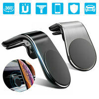Universal Magnetic Phone Holder Clip Car Air Vent Bracket for Mobile Phones GPS