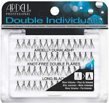 Ardell Double Individual Lashes, Long Black 56 ea (Pack of 7)