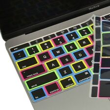 """Candy Black Silicone Keyboard Cover Skin for Macbook 12"""" with Retina Model A1534"""