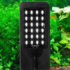 10W Modern 24 LED Aquarium Light Arm Clip on Plant Grow Fish Tank Lighting Lamp