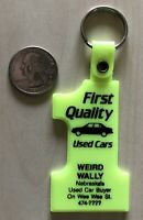 Weird Wally Nebraska Used Car Buyer On Wee Wee St Keychain Key Ring #34073