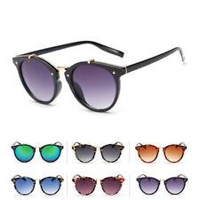 Retro Vintage Unisex Cat Eye Sunglasses Designer Women Men UV400 Eyewear Shades