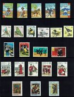 AUSTRALIA DECIMAL  1980 TO 1985 COLLECTION ..*** 110 STAMPS ***