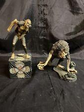 2 McFarlane Toys Movie Maniacs Bram Stoker's Dracula Figures Vampire Werewolf