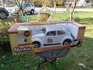 Original Herbie Fully Loaded RADIO Control Car VERY UNIQUE & VINTAGE 1/6 SCALE.