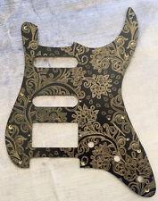 Custom Gold Paisley Bakelite Pickguard Fender® Stratocaster® Strat® style HSS