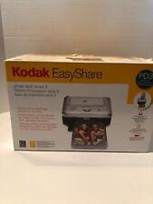 Kodak Easyshare PD3 Series 3 One Touch Photo Printer Dock NIOB