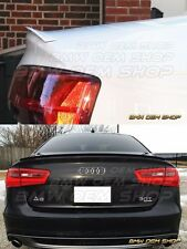 Delicate SK DESIGN 11+ ALL COLOR PAINTED AUDI A6 C7  TRUNK LIP SPOILER