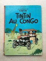 Les aventures de Tintin au Congo Tome n°2 par Hergé   éditions de 1971    2B39