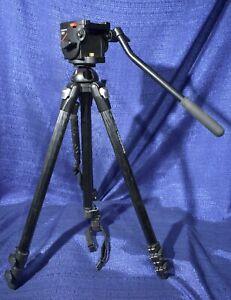 Manfrotto 055MF3 Tripod W/501 head